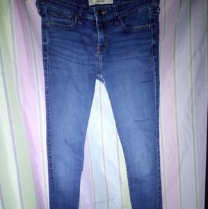 Hollister brand super skinny jeans